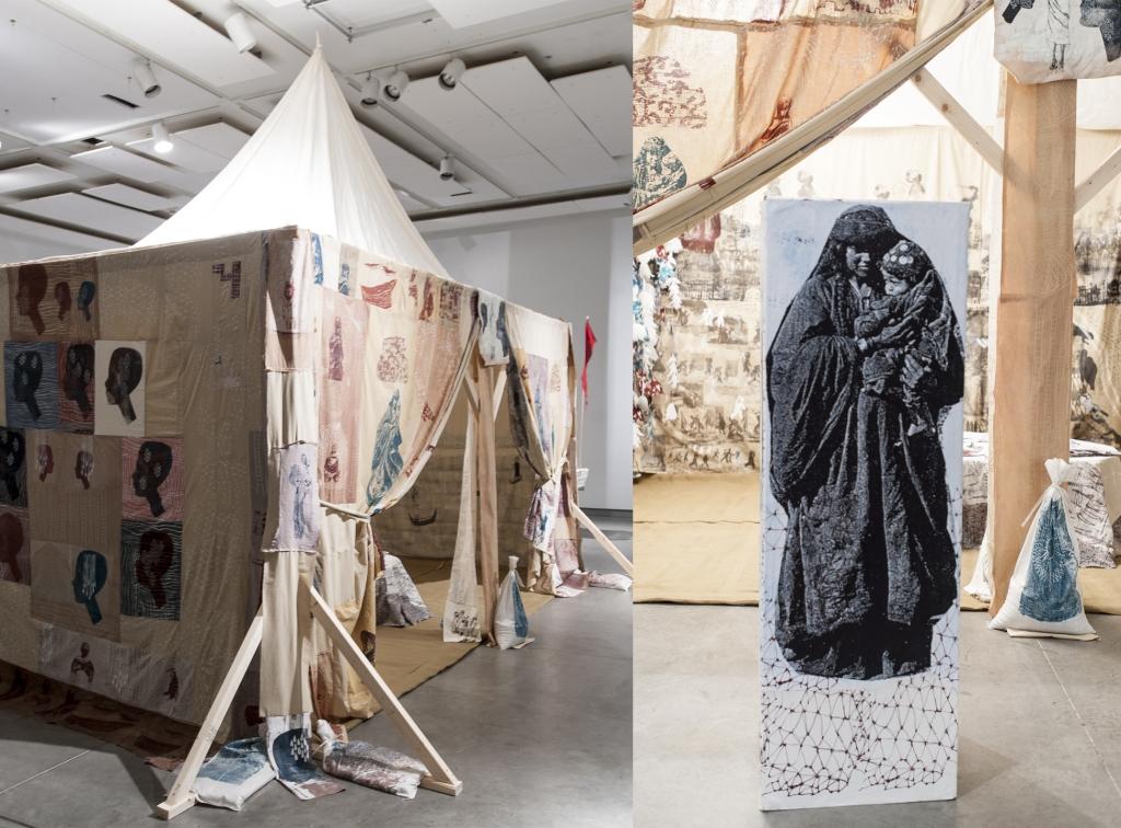 aJabar_Kinsella_Future Mothers, Tent -Totem